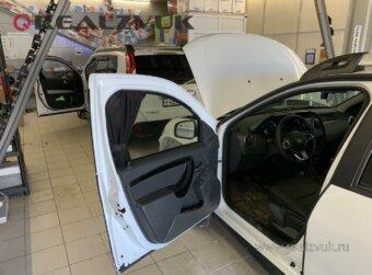Установка на Renault Duster