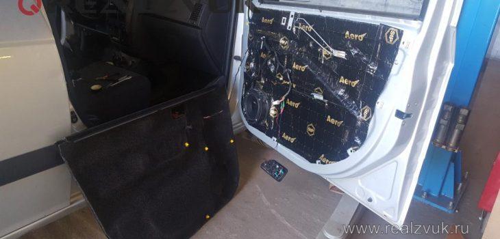 Шумоизоляция дверей Hyundai Getz