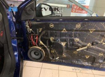 Установка Акустики Opel Astra