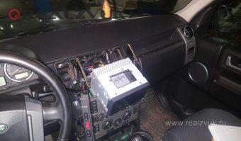 магнитола 2din в land rover