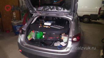 Установили камеру на Mazda 3