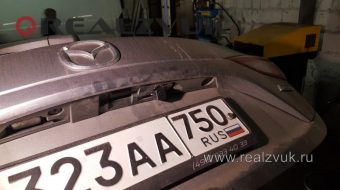 Установка камеры Mazda 3