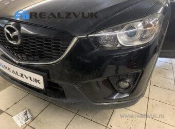 Установка парктроника на Mazda CX-5