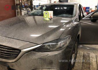 Запуск с телефона на Mazda 6