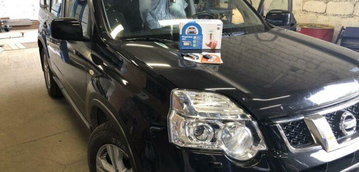 Nissan Xtrail сигнализация