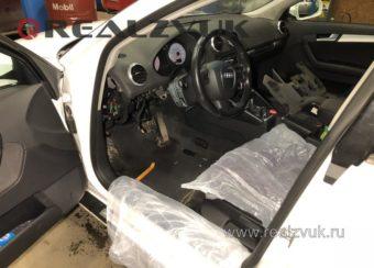 Установка сигнализация на Audi A3