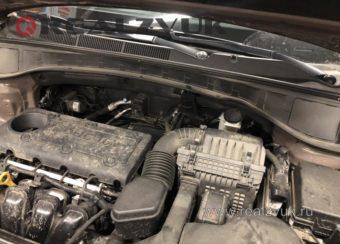 сирена на Hyundai Santa-fe