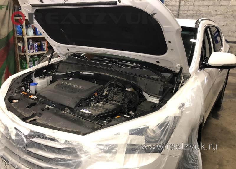 Защита от угона Hyundai Santa Fe