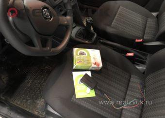 Маяк трекер на VW Polo