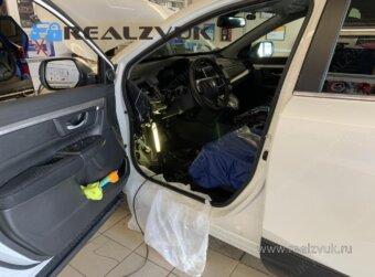 Pandora на Honda CRV