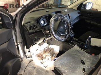 сигнализацуия Honda CRV