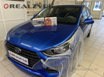 Защита Hyundai Solaris