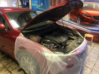 Защита от угона Mazda 6