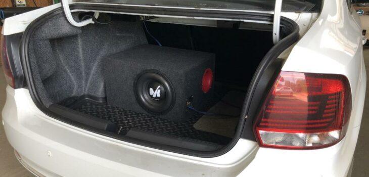 Саб на VW Polo