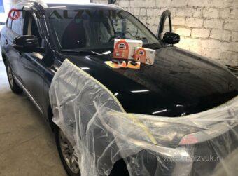 Защита от угона Mitsubishi Outlander