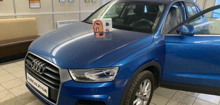 Audi Q3 установка Starline