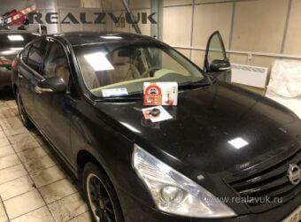Сигнализация на Nissan Teana