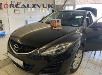 Сигнализация с запуском на Mazda 6