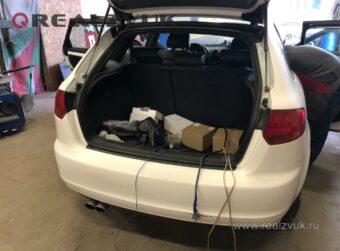 Усилитель в Audi