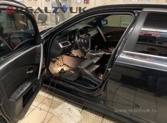 BMW 5 Установка сигнализации