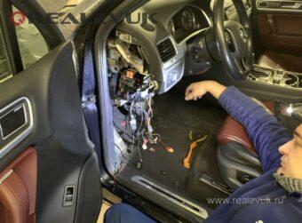 Спутник на VW Tuareg