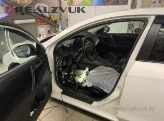 Mazda 3 установка Starline