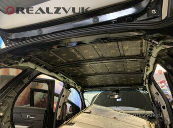 Виброизоляция потолок Ford Edge