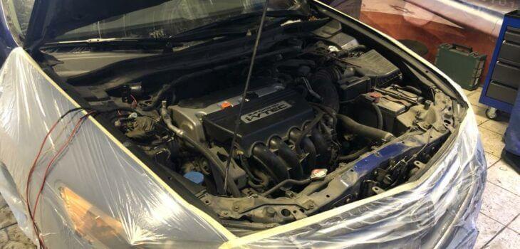 Защита от угона Honda Accord
