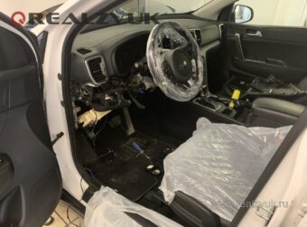 Защита Kia Sportage