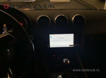 магнитола на Audi TT