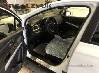 Сигнализация на Suzuki SX4