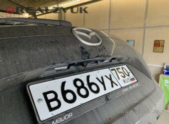 Штатная Камера на Mazda CX5