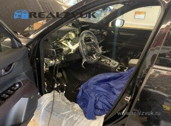 Установка Starline на Mazda