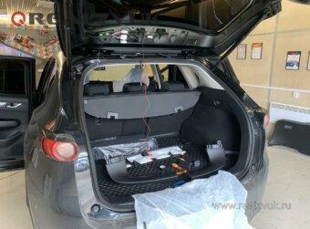 Задняя камера на Mazda CX5