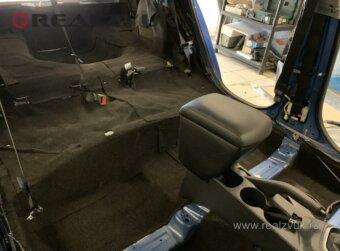 Hyundai Solaris шумоизоляция