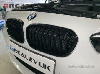 Сетка бампера BMW