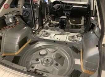 Шумоизоляция VW Tiguan