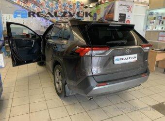 Установка сигнализации на Toyota RAV4