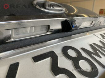 Задняя камера на Lexus