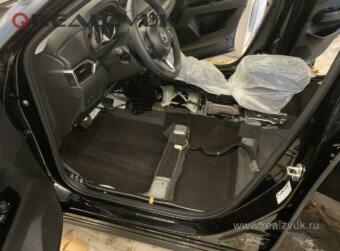 Mazda CX5 шумоизоляция салона
