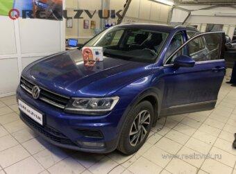 Установка S96 на VW Tiguan
