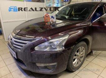 Установка сигнализации на Nissan Teana