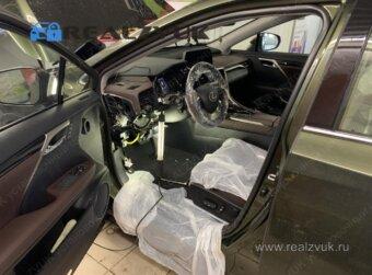 Защита Lexus RX