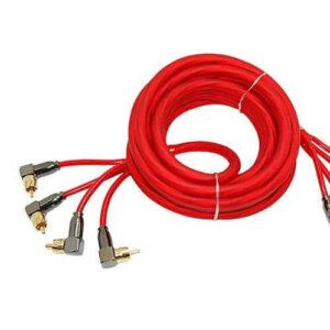 Межблочный кабель УРАЛ 4RCA-PB5M