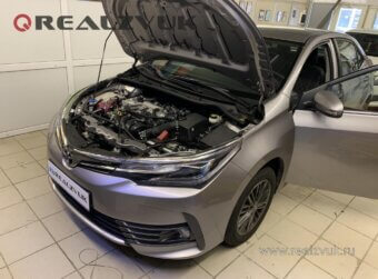 Защита Toyota Corolla от угона