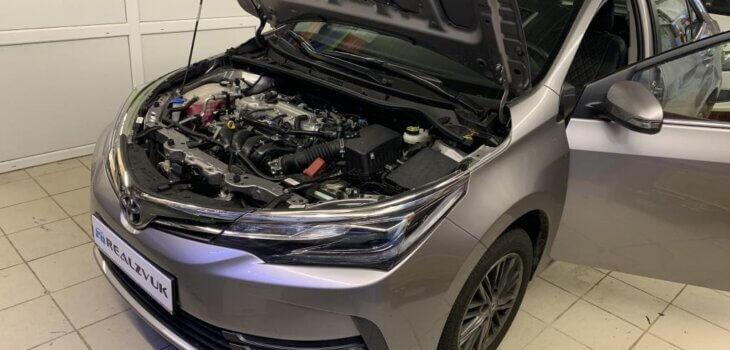 Защита Toyota Corolla