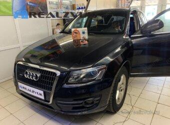 Сигнализация с запуском на Audi Q3