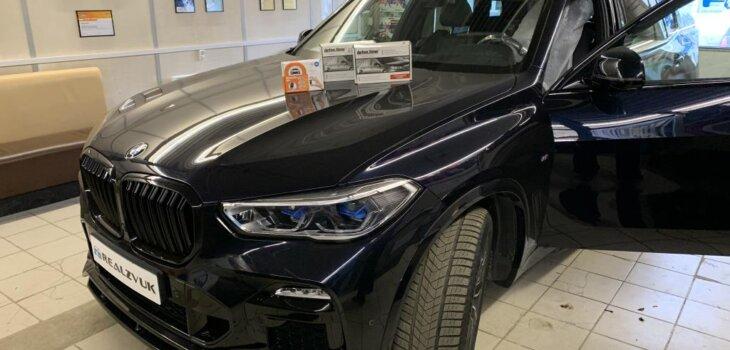 BMW X5 защита от угона