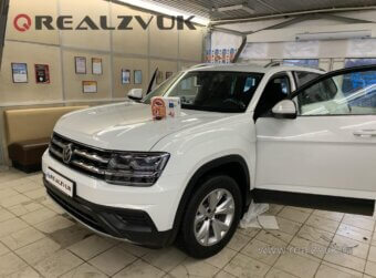 Автосигнализация на VW teramont