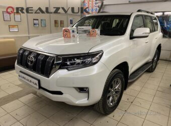 Зщита от угона Toyota Land Cruiser Prado